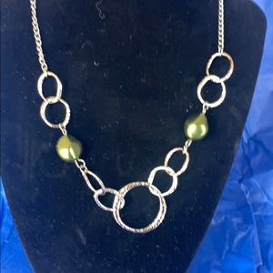 Gorgeous necklace with earrings
